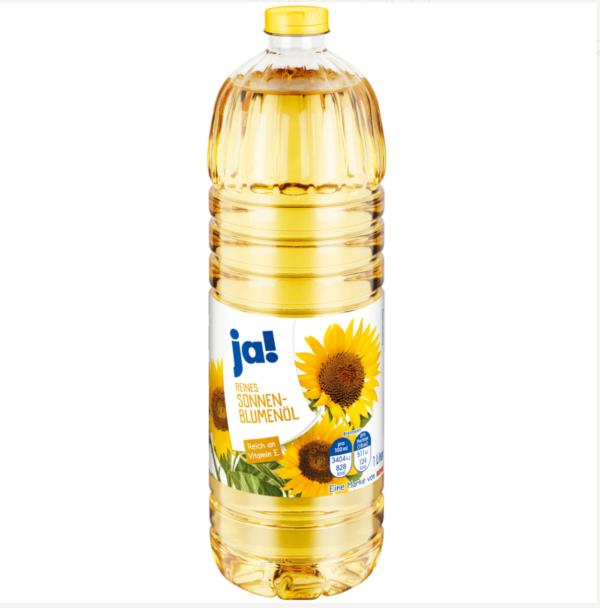 Sonnenblumenöl-Ja