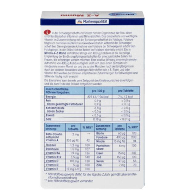 A-Z Mama, Tabletten 60 St., 51 g