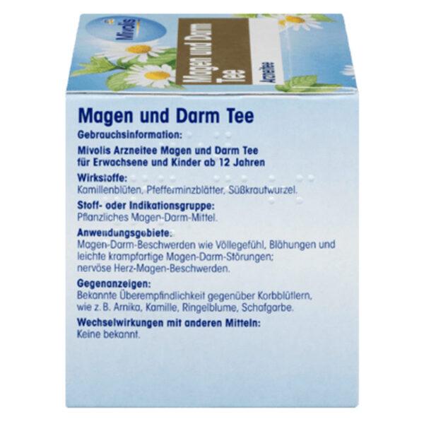 Arznei-Tee, Magen und Darm Tee, 21 g
