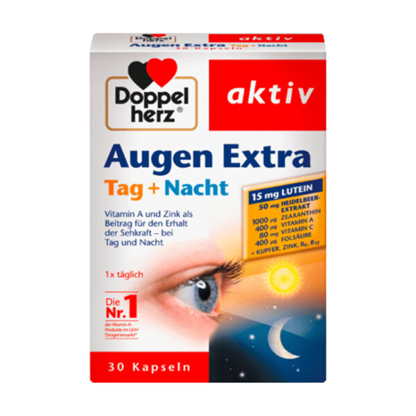 Augen Extra Tag + Nacht Kapseln 30 St., 16,2 g