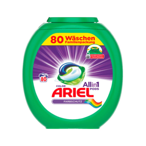 Colorwaschmittel All-in-1 Pods, 80 Wl