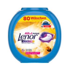 Colorwaschmittel Allin1 Pods Goldene Orchidee, 80 St