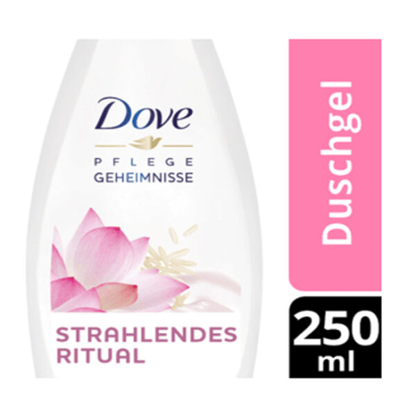 Cremedusche Pflegegeheimnisse Reiswasser- & Lotusblütenduft, 250 ml