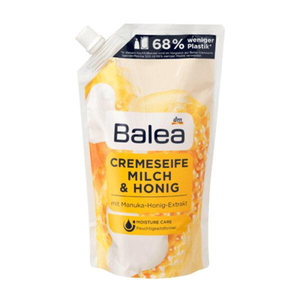 Flüssigseife Milch & Honig Nachfüllpackung, 500 ml