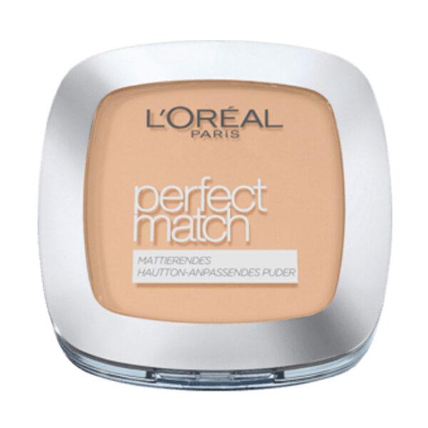 Gesichtspuder Perfect Match nude beige N4, 9 g