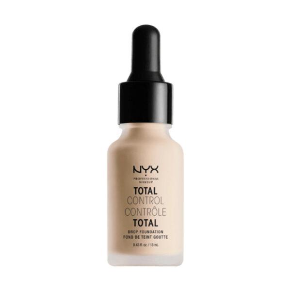 Make-Up Total Control Foundation Alabaster 02, 13 ml