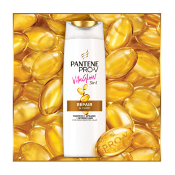 Shampoo Vita Glow 3in1 Repair&Care, 250 ml