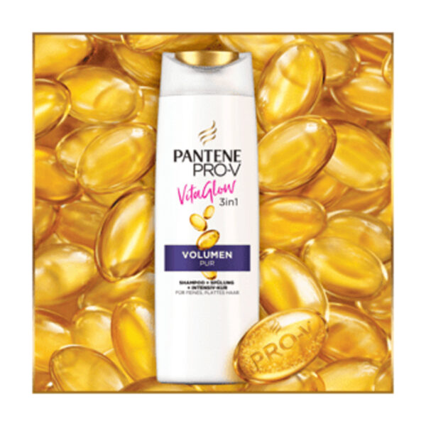 Shampoo Vita Glow 3in1 Volumen Pur, 250 ml