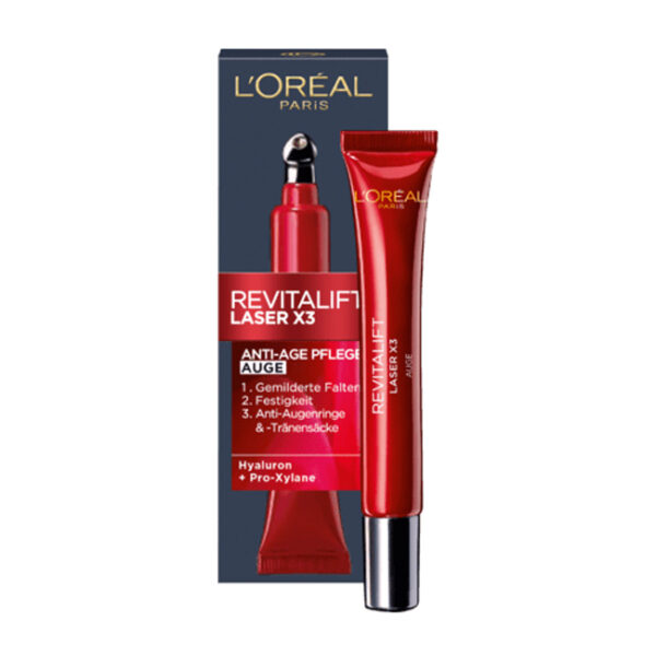 Augencreme Revitalift Laser X3 Anti-Age, 15 ml