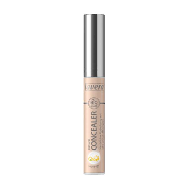 Concealer NATURAL CONCEALER mit Q10-Wirkstoffkomplex Ivory 01, 5,5 ml