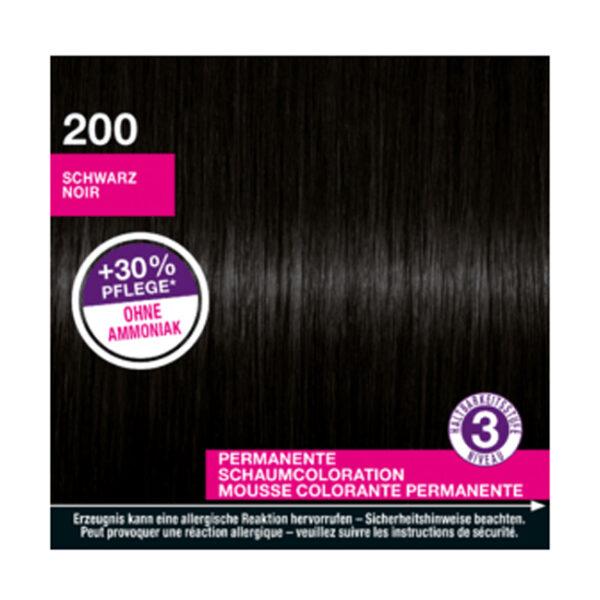 Haarfarbe Schaum Schwarz 200, 1 St