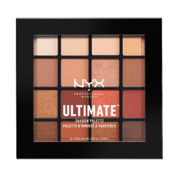 Lidschatten Eyeshadow Ultimate Shadow Palette Warm Neutrals 03, 13,3 g