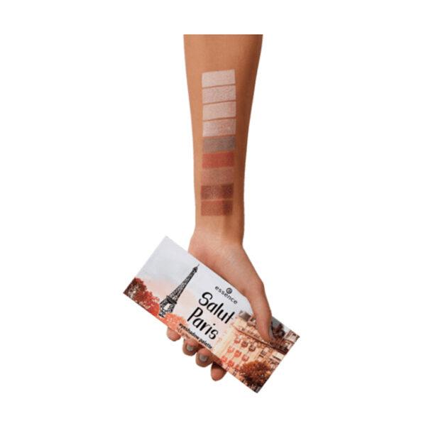 Lidschattenpalette Salut Paris eyeshadow palette 02, 13,5 g