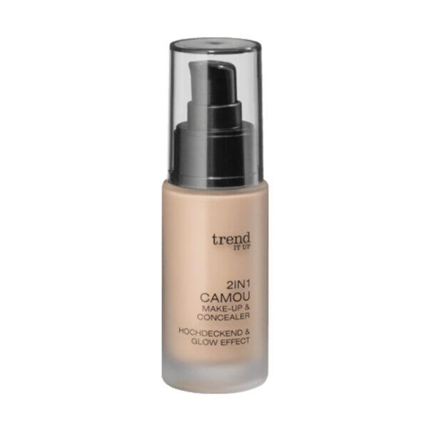 Make-up 2in1 Camou Make-up & Concealer 010, 30 ml