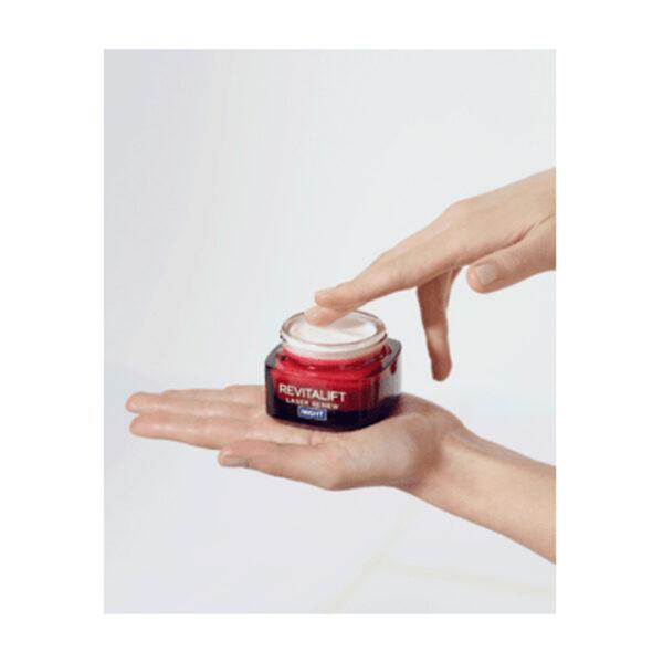 Nachtcreme Revitalift Laser X3 Anti-Age Creme-Maske Reparierender Booster, 50 ml