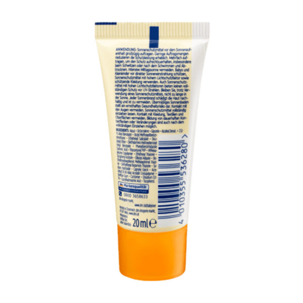 Sonnencreme Sensitiv LSF 50+, 20 ml