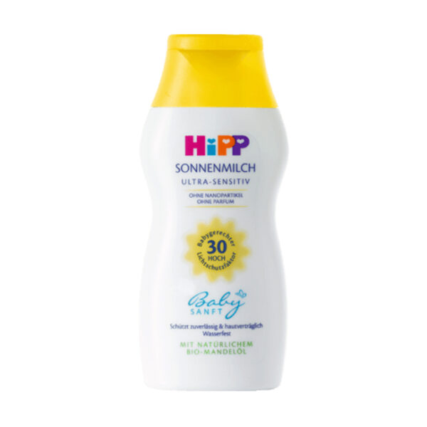 Sonnenmilch Ultra Sensitiv LSF 30, 200 ml