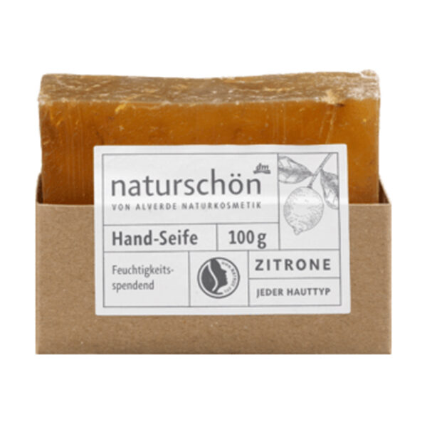 Stückseife naturschön Zitrone, 100 g
