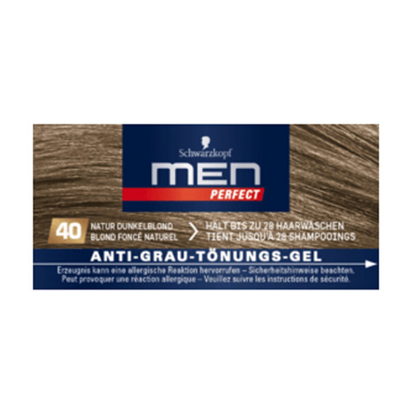 Tönung Anti-Grau-Gel Natur Dunkelblond 40, 80 ml