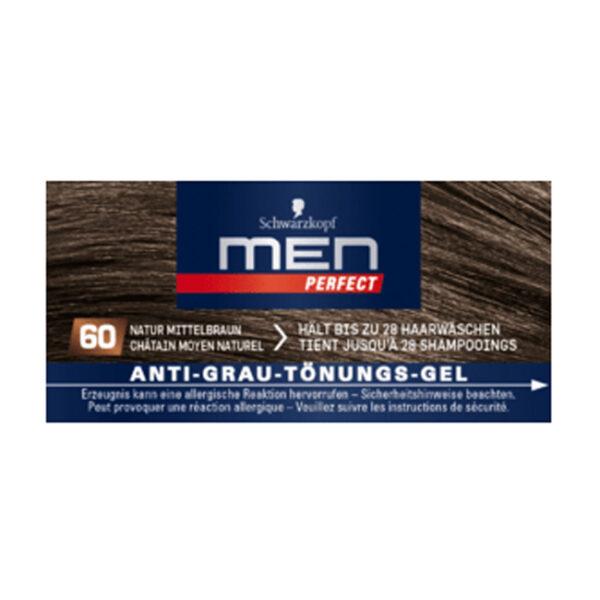 Tönung Anti-Grau-Gel Natur Mittelbraun 60, 80 ml