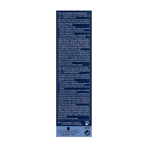 Tönung Anti-Grau-Gel Natur Schwarzbraun 80, 80 ml