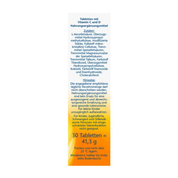 Vitamin C 1.000 Depot Tabletten 30 St., 41,3 g