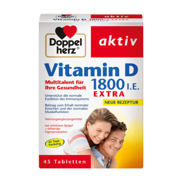 Vitamin D Tabletten 45 St., 12,5 g