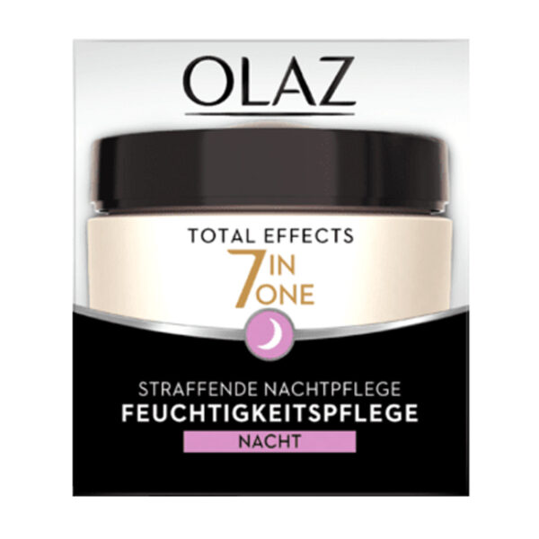Nachtcreme Total Effects straffend, 50 ml