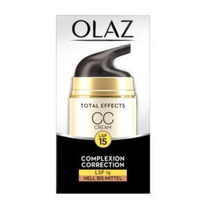 Tagescreme getönt Total Effects CC Cream für hellere Hauttypen, 50 ml