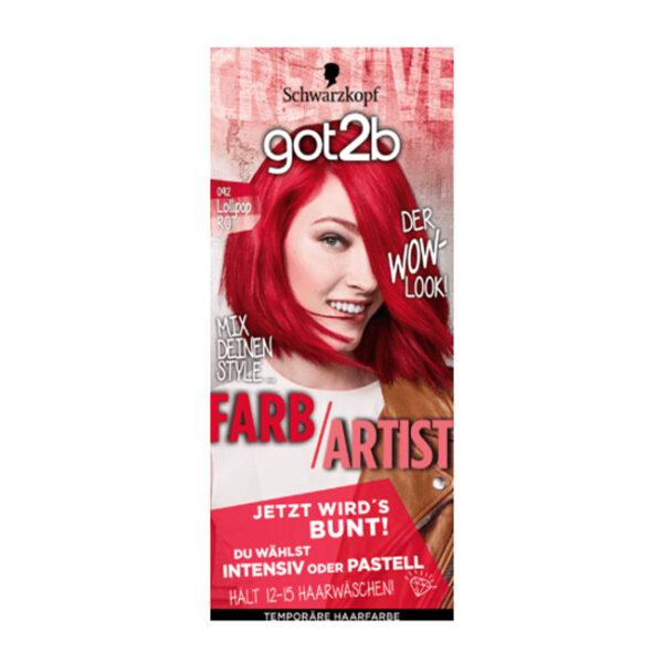 Tönung Farb/Artist Lollipop Rot 092, 1 St