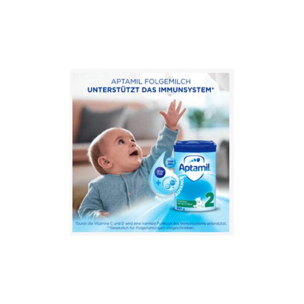 Aptamil Folgemilch 2 Pronutra nach dem 6. Monat, 800 g