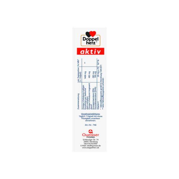 Omega-3 1400 Kapseln 30 St., 59,2 g