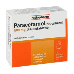 Paracetamol ratiopharm 500 mg