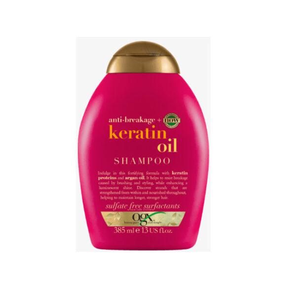 Shampoo Anti Breakage Keratin Oil, 385 ml