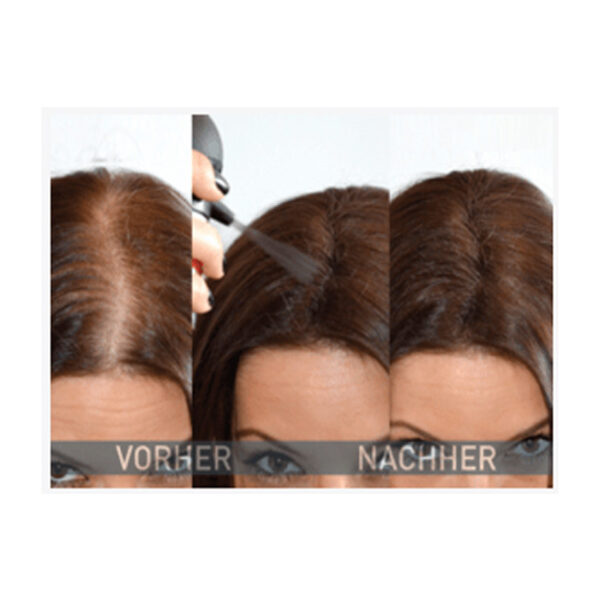 Streuhaar Haarverdichter medium brown