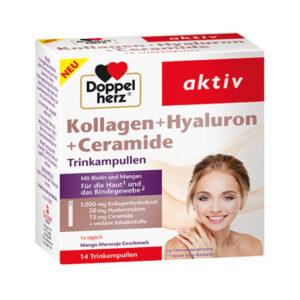 Kollagen + Hyaluron + Ceramide 14 Ampullen