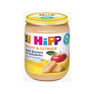Frucht & Getreide Apfel-Banane mit Babykeks nach dem 4.Monat/ ab dem 5.Monat, 190 g