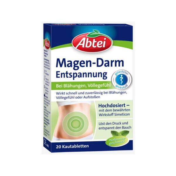 Magen-Darm Entspannungs-Kautabletten, 20 St