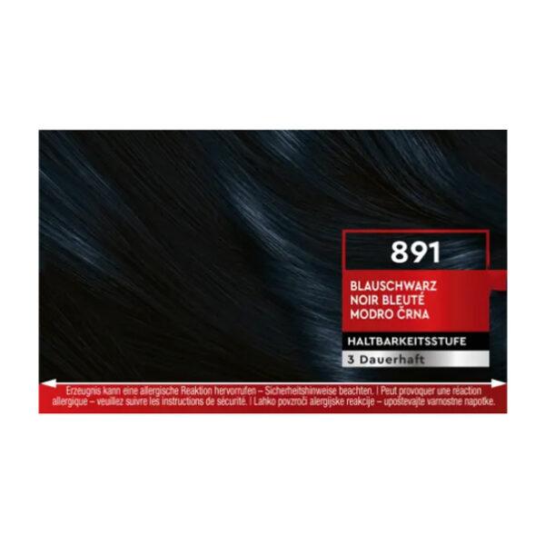 Haarfarbe Blau-Schwarz 891, 1 St