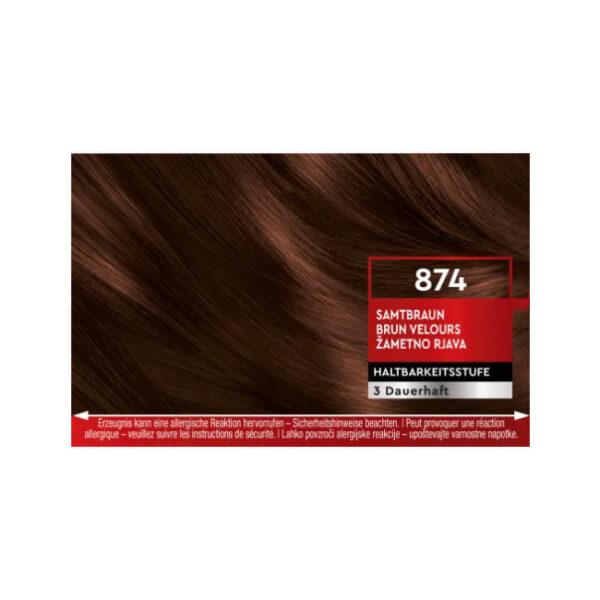 Haarfarbe Samtbraun 874, 1 St