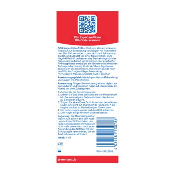 Nagelpilz Nagel-Hilfe-Stift, 4 ml