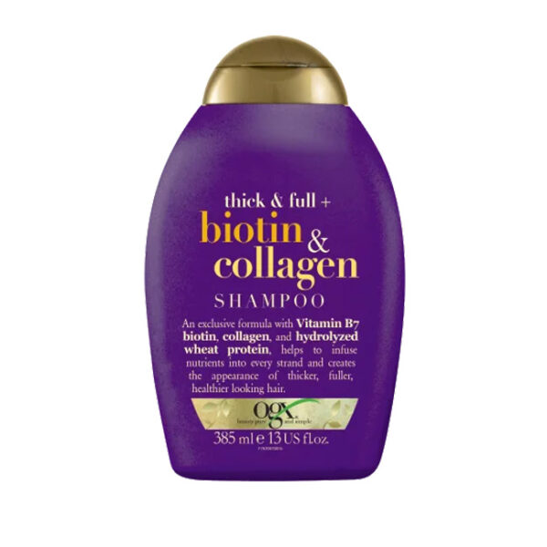 Shampoo Thick&Full Biotin & Collagen, 385 ml