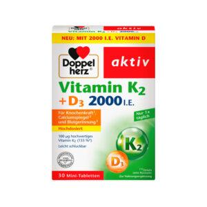 Vitamin K2 + D3 30 St., 12,8 g