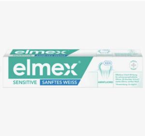 Zahnpasta sensitive sanftes weiss, 75 ml