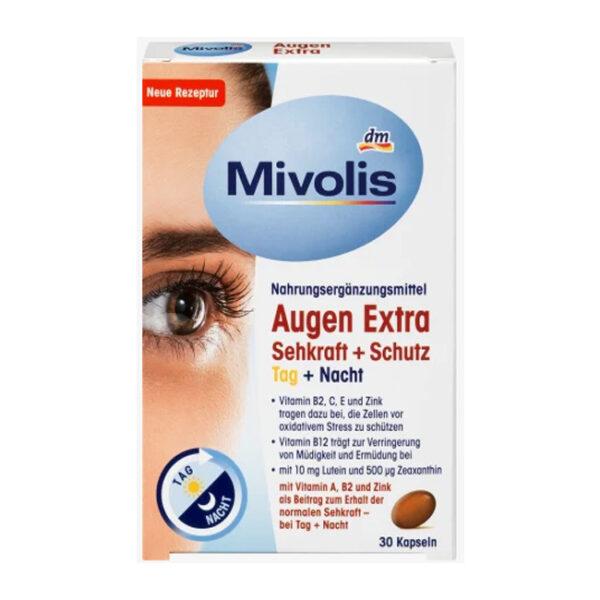 Augen Extra Sehkraft + Schutz, Tag + Nacht, Kapslen, 30 St., 28,8 g