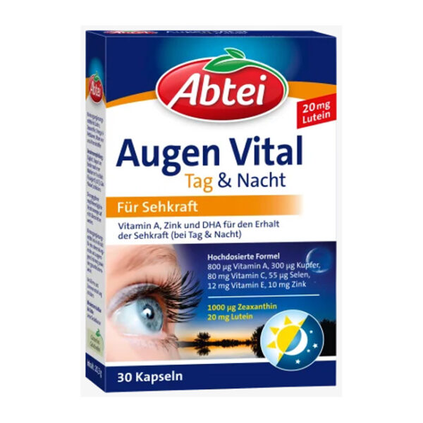 Augen Vital Tag & Nacht Kapseln 30 St., 20,3 g