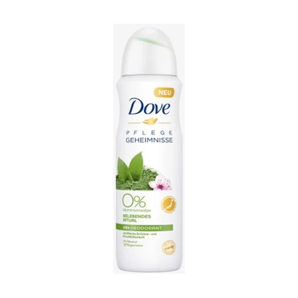 Deo Spray Deodorant Pflegegeheimnisse Matcha Grüntee & Kirschblüten, 150 m