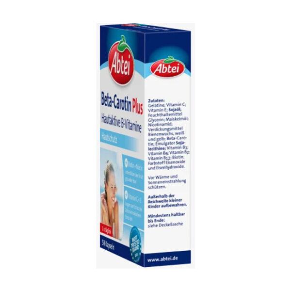 Beta Carotin Plus Kapseln 50 St., 19,5 g