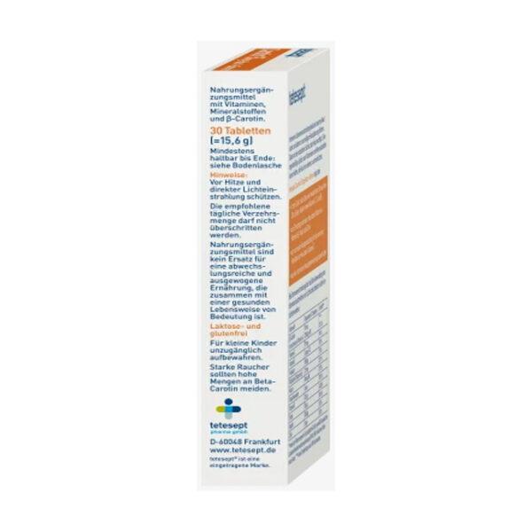 Carotin (30 Tabletten), 15,6 g