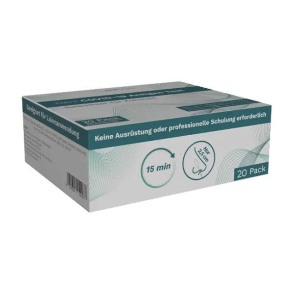 Corona Schnelltest Selbsttest COVID-19 Antigen Test, 20 St